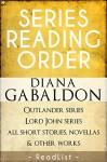 Diana Gabaldon Series Reading Order: Outlander Series, Lord John Grey Series, all short stories, novellas, and all other works - ReadList, Tara Sumner, Steven Sumner