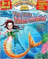 The Little Mermaid All-in-One Classic Read Along Book / CD - Larry Carney