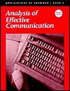 Applications of Grammar Book 3: Analysis of Effective Communication - Ed Shewan, Garry Moes, Edward Shewan