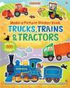 Trains, Truck & Tractors - Felicity Brooks