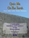 Quiz Me On The Torah - Deuteronomy - Moshe Avital, Chaim Mazo