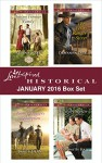 Love Inspired Historical January 2016 Box Set: Instant Frontier FamilyThe Bounty Hunter's RedemptionThe Bounty Hunter's RedemptionThe Baby Barter (Frontier Bachelors) - Regina Scott, Janet Dean, Patty Smith Hall