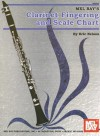 Mel Bay's Clarinet Fingering and Scale Chart - Eric Nelson