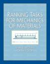 Ranking Tasks for Mechanics of Materials - Shane Brown, Cara Poor