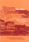 Storm in the Community: Yiddish Political Pamphlets of Amsterdam Jewry, 1797-1798 - Marion Aptroot