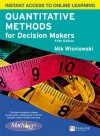 Quantitative Methods for Decision Makers with MathXL (5th Edition) by Wisniewski Mik (2010-03-15) Paperback - Wisniewski Mik