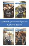 Harlequin American Romance July 2015 Box Set: The Cowboy SEAL's TripletsThe Bull Rider's SonThe Heart of a CowboyA Rancher of Her Own - Tina Leonard, Cathy McDavid, Trish Milburn, Barbara White Daille