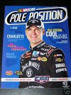 NASCAR Pole Position Magazine featuring Clint Bowyer May 2008 (Charlotte Motor Speedway Coca-Cola 600) - Monte Dutton, David Exum, Valli Hilaire, Erin Lawley, Todd McElwee, Pole Position, CIA Stock Photography