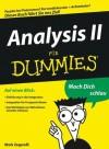 Analysis II für Dummies (German Edition) - Mark Zegarelli, Judith Muhr
