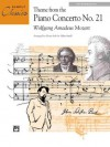 Theme from Piano Concerto No. 21 (Sheet) (Simply Classics Solos) - Wolfgang Amadeus Mozart, Allan Small