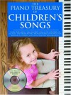 The Piano Treasury of Children's Songs [With CD] - Amsco Publications
