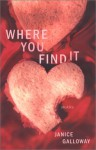 Where You Find It - Janice Galloway