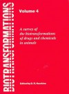 Biotransformations: A Survey of the Biotransformations of Drugs and Chemicals in Animals - Jeff Hawkins, D. R. Hawkins, Royal Society of Chemistry