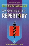 How to Find Simillimum with Boger's Repertory - C.M. Boger