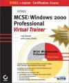 MCSE Windows 2000 Professional E-Trainer [With 2 CDROMs] - Lisa Donald, James Chellis