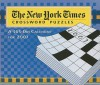 2007 The New York Times Crossword Puzzles Calendar: Large Cube - Will Shortz
