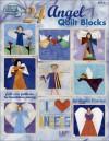 24 Angel Quilt Blocks - Linda Causee