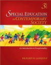 R. M. Gargiulo's Special Education in Contemporary Society 3rd(third) edition (Special Education in Contemporary Society: An Introduction to Exceptionality [Paperback])(2008) - GARGIULO