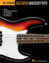 Bass Guitar Manuscript Paper - Hal Leonard Publishing Company