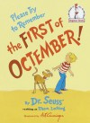 Please Try to Remember the First of Octember! - Theo LeSieg, Art Cumings