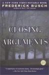 Closing Arguments - Frederick Busch