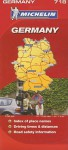 Germany Map - Michelin Travel Publications