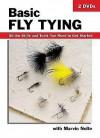Basic Fly Tying-DVD: All the Skills and Tools You Need to Get Started - Michael Radencich