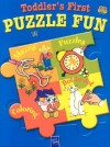Toddler's First Puzzle Fun--Blue - Yoyo Books
