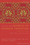 Sources of Japanese Tradition, Abridged: Part 2: 1868 to 2000 - William Theodore de Bary, Carol Gluck