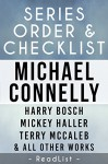 Michael Connelly Series Order & Checklist: Harry Bosch series, Mickey Haller series, Terry McCaleb series, Plus Character List, All Short Stories, Stand-Alone ... for Each Novel (Series List Book 2) - ReadList, Steven Sumner