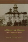 A History of Chicago, Volume II: From Town to City 1848-1871 - Bessie Louise Pierce