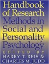 Handbook of Research Methods in Social and Personality Psychology - Harry T. Reis