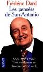 Les pensées de San-Antonio - Frédéric Dard