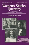Women's Studies Quarterly (94:1-2): Feminist Teachers - Toni McNaron, Nancy Porter