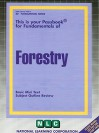 Forestry: Basic Mini Text, Subject Outline Review - National Learning Corporation