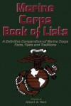 Marine Corps Book Of Lists - Albert A. Nofi