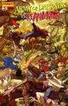 Army of Darkness Vs Reanimator #3 Alice in Wonderland Cover - James Kuhoric