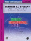 Student Instrumental Course Baritone (B.C.) Student: Level III - Bill Laas, Herman Vincent, James D. Ployhar