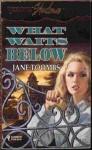 What Waits Below - Jane Toombs