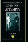 Criminal Attempts - Antony Duff