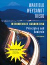 Intermediate Accounting: Principles and Analysis, 2nd Edition Binder Ready Version - Terry D. Warfield, Jerry J. Weygandt, Donald E. Kieso