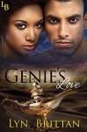 A Genie's Love: An Interracial Paranormal Romance (The Dirty Djinn Series Book 2) - Lyn Brittan