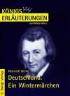 Königs Erläuterungen und Materialien, Bd.62, Deutschland. Ein Wintermärchen - Heinrich Heine, Wolfgang Pfister