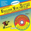 Ultimate English Vocabulary Study Cards and CD-ROM [With CDROM] - Ace Academics Inc