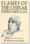 Flames of the Chinar: Sheikh Abdullah - Khushwant Singh