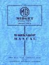 MG Midget TD/TF WSM - Brooklands Books Ltd
