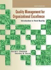 Quality Management for Organizational Excellence: Introduction to Total Quality - David L. Goetsch, Stanley Davis