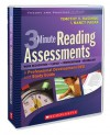 3-Minute Reading Assessments: A Professional Development DVD and Study Guide - Timothy V. Rasinski, Nancy Padak