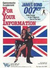 For Your Information (James Bond 007 role-playing game) - Victory Games