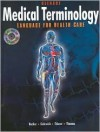 Medical Terminology: Language for Health Care with CD-ROM - Becker, Nina Thierer